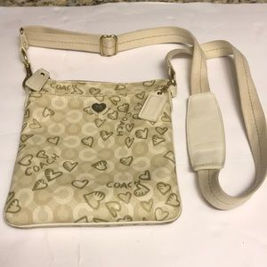 COACH Waverly Hearts Crossbody Purse